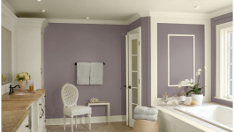 Benjamin Moore_Room by Color_Purple Bathroom