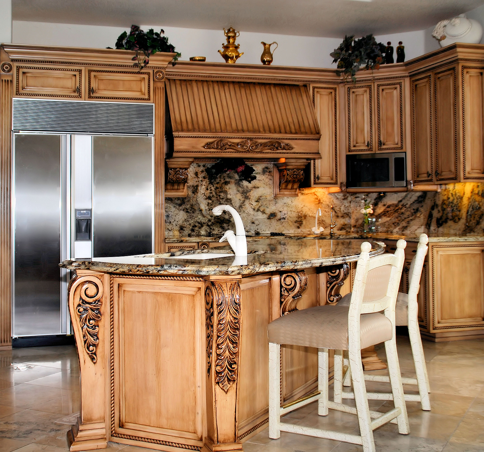 Donco designs is a pompano beach remodeling contractor for Kitchen wood design