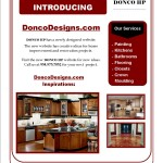Donco Designs Flyer