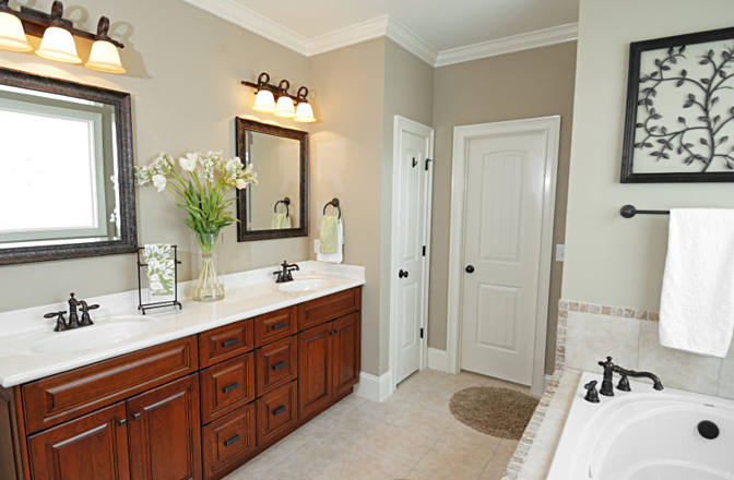 Donco designs is a pompano beach remodeling contractor for Two sink bathroom ideas