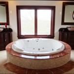 Bathroom Designs from a Modern Day Castle