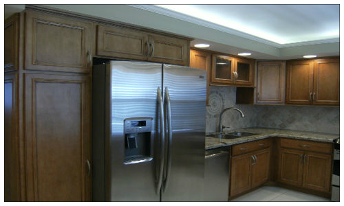 Kitchen - Thomasville Cabinets- Indirect Lighting - Palm Aire
