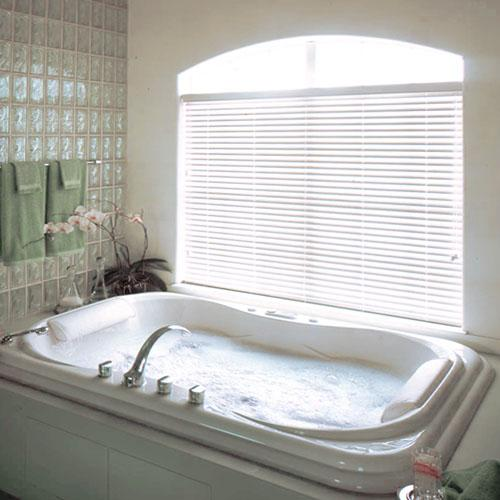 bathroom blinds. Bathroom Venetian Blinds  Hunter Douglas Everwood Renditions