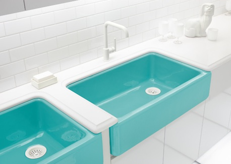 Donco designs is a pompano beach remodeling contractor - Kohler kitchen sink colors ...