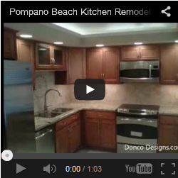 Palm Aire F Model Kitchen Remodel