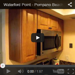 Pompano Beach Waterford Condo Kitchen Remodel
