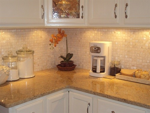 Mother Of Pearl Countertops : Donco designs is a pompano beach remodeling contractor