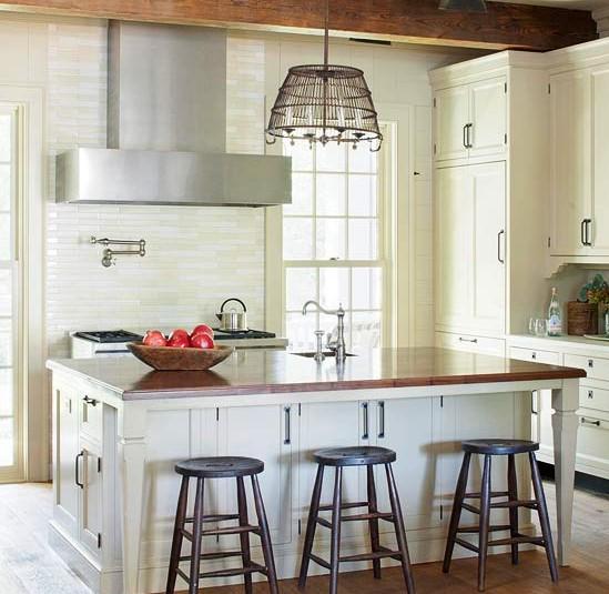 Vintage Kitchen 1 - stainless hood