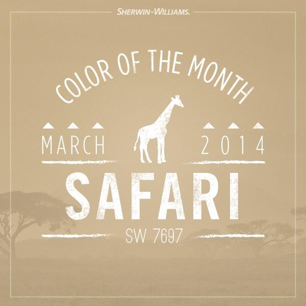 sherwin Willaims-Safari Color
