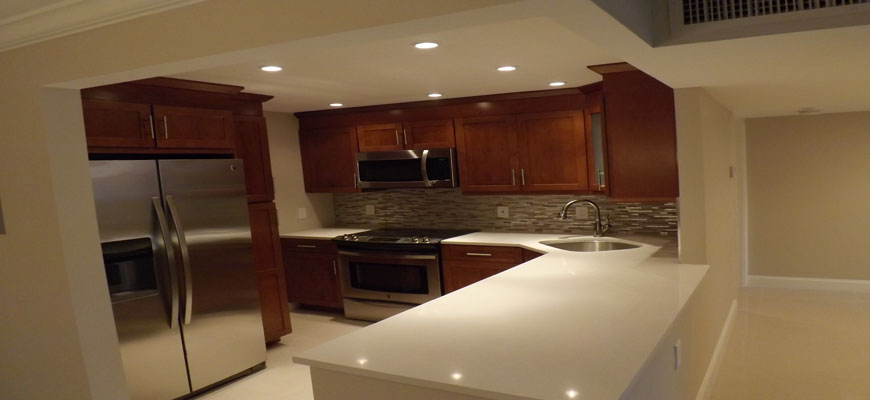 Kitchen remodel – quartz