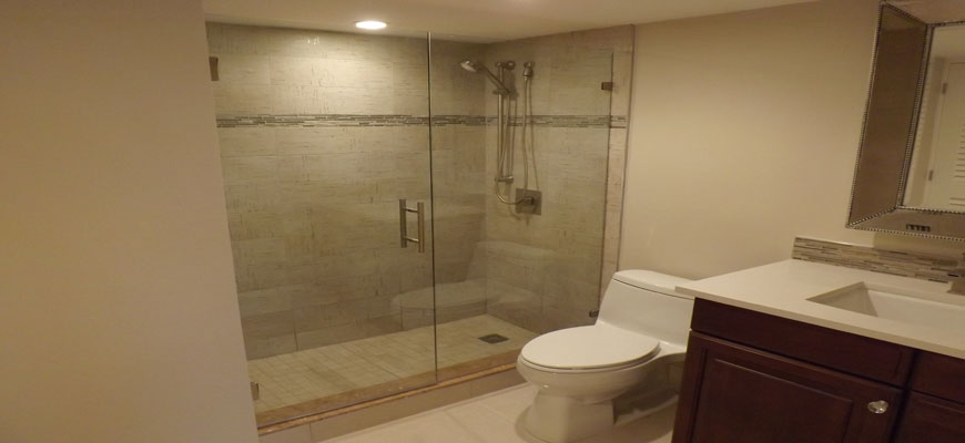 Bathroom remodel – shower