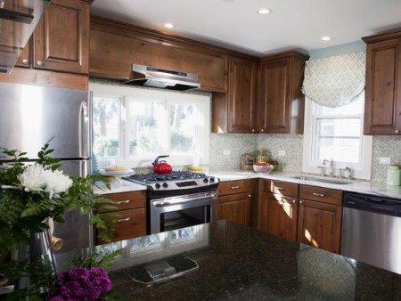 granite-island-and-marble-countertop-kitchen