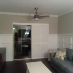 Palm Aire – Custom Wainscoting and Crown Molding Project