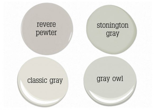 Choosing the perfect gray for your decor
