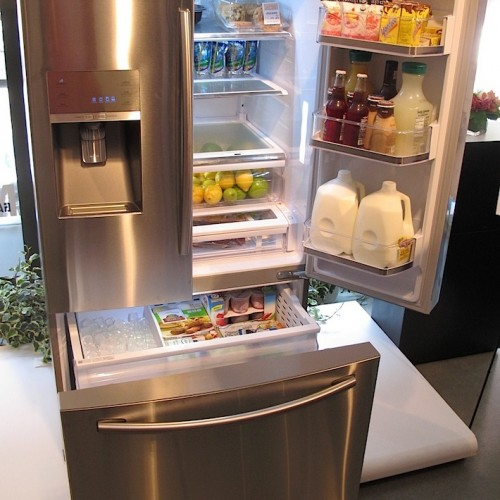 samsung refrigerator - kitchen appliances