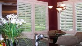 Horizon plantation shutters