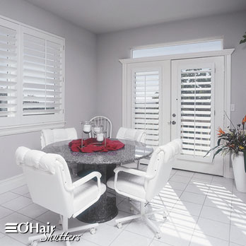 Ohair plantation shutters