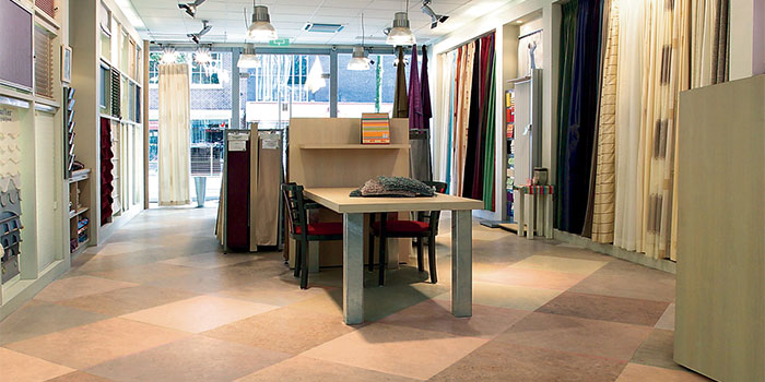 Photo credit - Forbo Marmolum Flooring - Green Building Supply