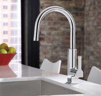 photo credit: Moen STO kitchen faucet