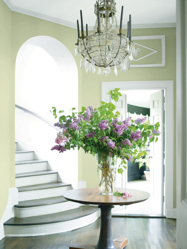 Photo credit - Guilford green - Benjamin Moore