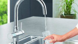 Grohe - Blue Chilled Sparkling Faucet