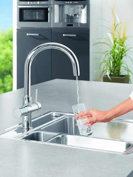 Grohe captures major Kitchen design styles with three amazing Faucets