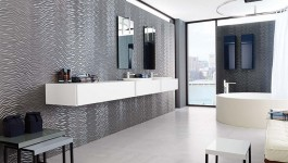 photo: Wave Metallic -  Porcelanosa USA