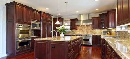 Kitchen recessed lighting - flat ceiling