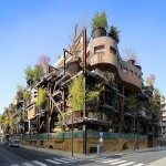 Mega Urban Treehouse Apartment Building – An Eco- Friendly Designed Oasis