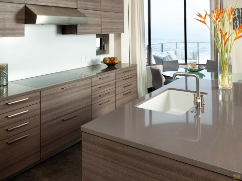 Cambria - Color: Devon  Quartz Countertop