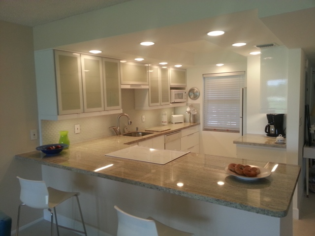 Pompano Beach Kitchen Ceiling Soffit