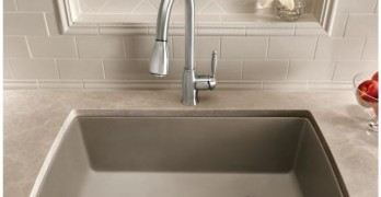 Blanco Granite sink - Biscotti