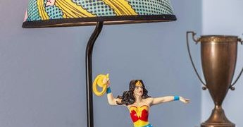 wonder woman lamp - Westland Giftware