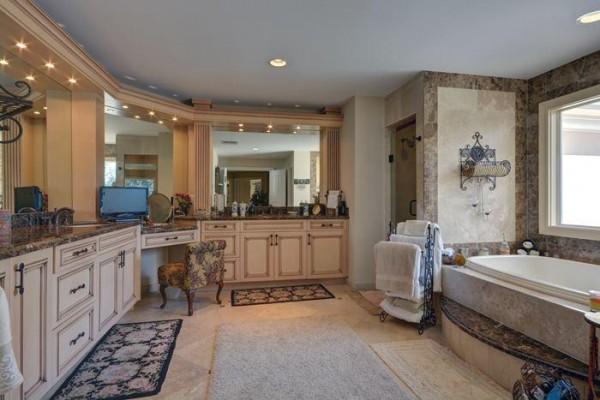 David Cassidy masterbathroom Photo credit - South Florida Business Journal