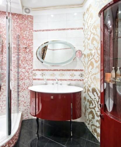 bathroom - small vanity