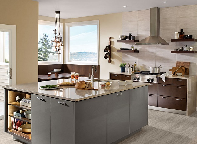 photo credit - Kraftmaid Kitchen Cabinets