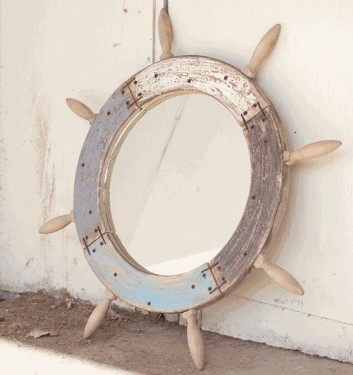 Coastal Wall Mirrors using decor wall mirrors to add flair to your home - donco designs