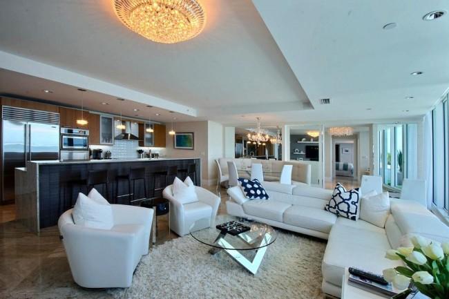 Florida ocean condo remodel ideas - Pompano - Lauderdale By The Sea