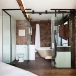 Key elements of industrial bathroom design style