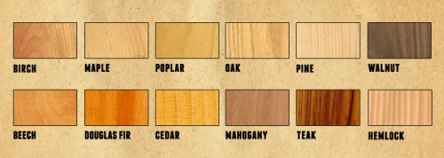 ABC's of Common Wood Types for Home Improvement Projects
