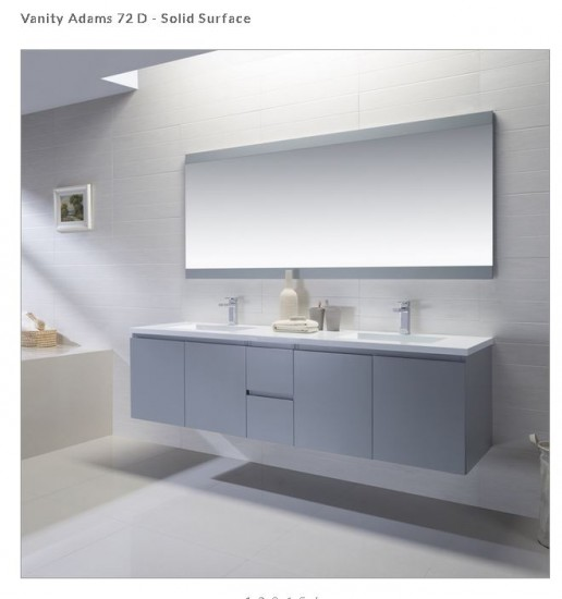 Modern Bathroom Vanities Pompano Beach how a vanity can set the tone in your pompano beach bathroom