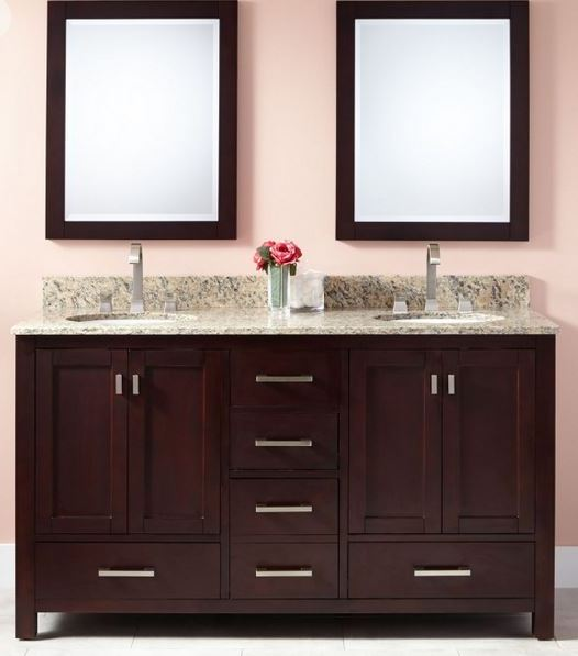 Modern Bathroom Vanities Pompano Beach how a vanity can set the tone in your pompano beach bathroom