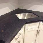 Quartz Countertop Installation – Stellar Black