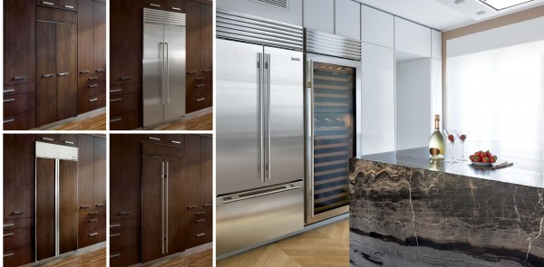 Photo credit: Sub zero  Integrated -built in appliances