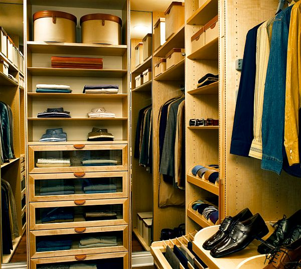 Men - Walk in closet - Natural Maple - Decoist
