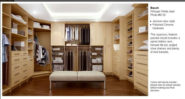 Canyon Creek Closets