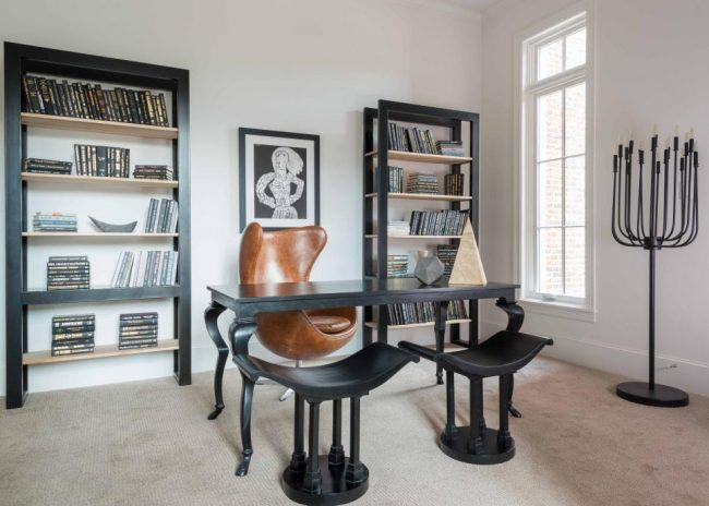 Home Office 4 Eclectic Design Donco Designs