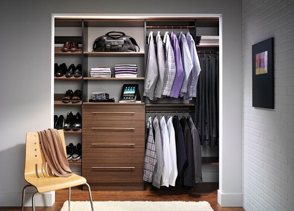 Closet Design for Men - photo credit - Decoist