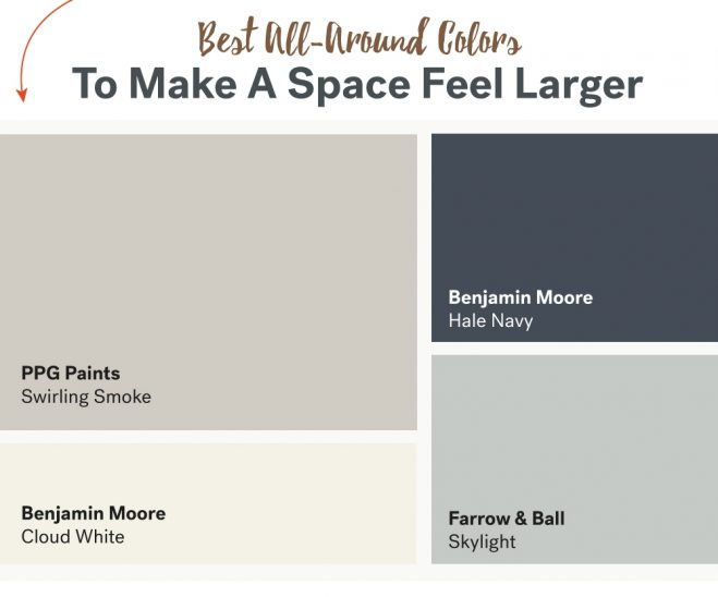 Paint Colors That Make A Room Look Bigger best paint colors for small rooms - donco designs
