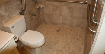 Universal Design Concepts to use in a Bathroom remodel for persons with Disabilities